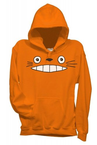 Felpa col sorrisone di Totoro