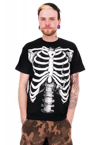 Maglietta scheletro
