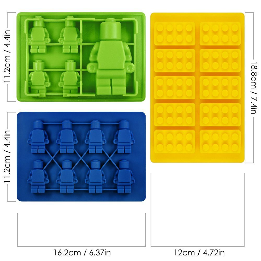 stampi lego caramelle gelatina 9