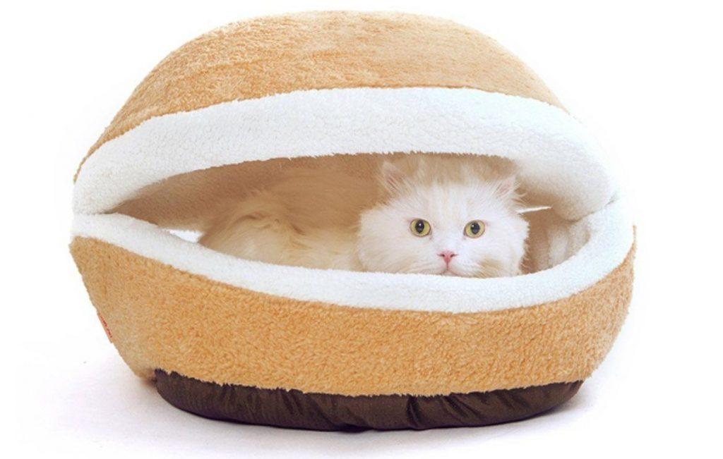 cuccia gatti cat burger 1