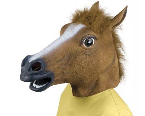 Testa di cavallo, la maschera