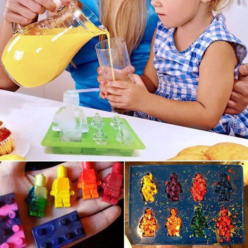 Stampi per fare caramelle a forma di Lego