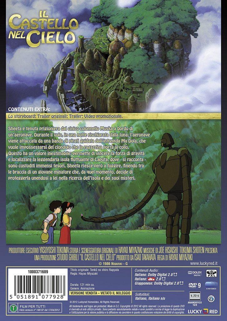 laputa castello nel cielo dvd miyazaki 1