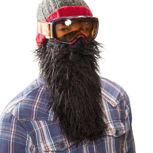Barba da yeti per sciatori