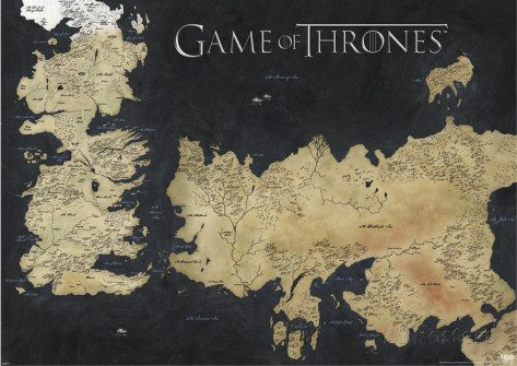 mappa game of thrones 1