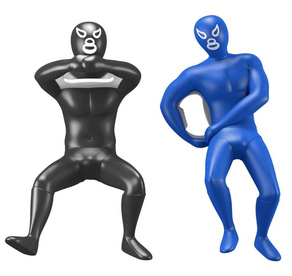 luchadores-apribottiglie
