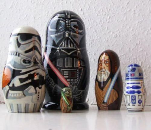 Matrioska Star Wars