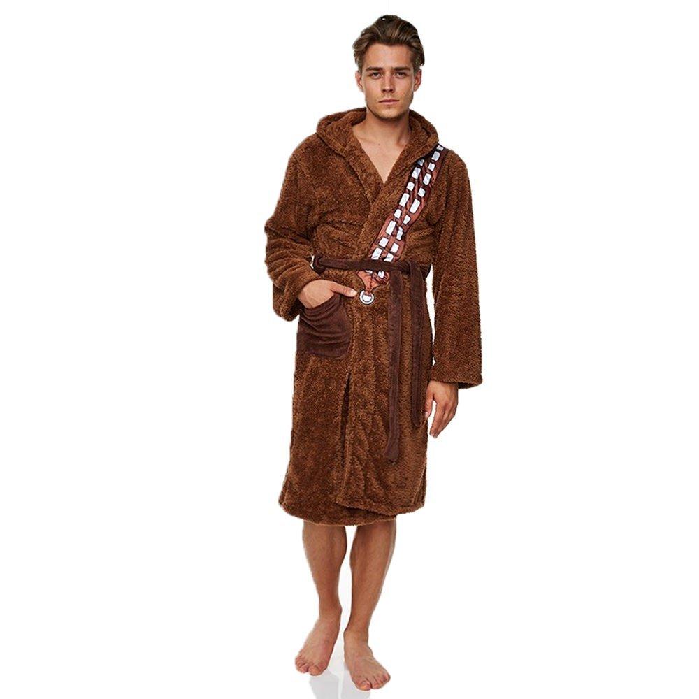 Star Wars SW originale trilogia episodio Ep 7 vestaglia con licenza carino Nightwear Bath Robe Chewbacca