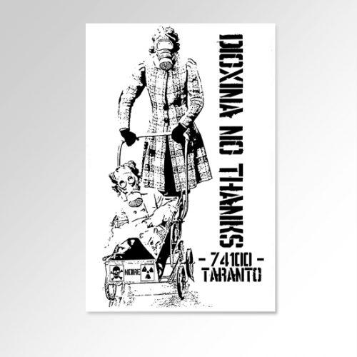 Senza Titolo Serigrafia di StencilNoire