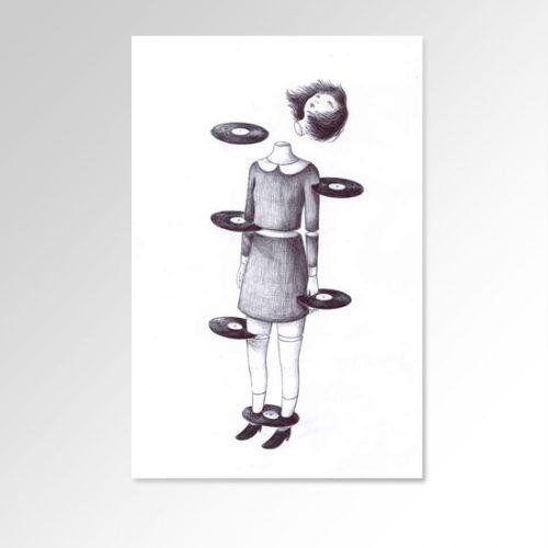 Senza Titolo Serigrafia di Virginia Mori