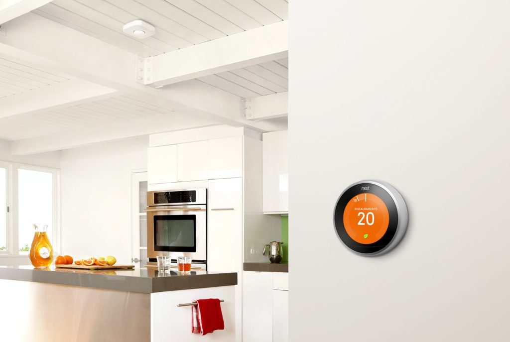 Nest, termostato intelligente per smart home