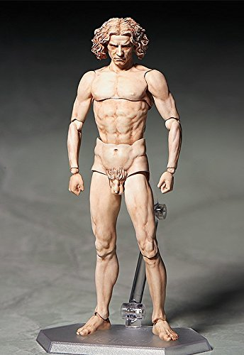 Freeing Table Museum l' uomo vitruviano Figma Action Figure