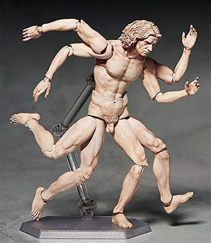 Freeing Table Museum l' uomo vitruviano Figma Action Figure