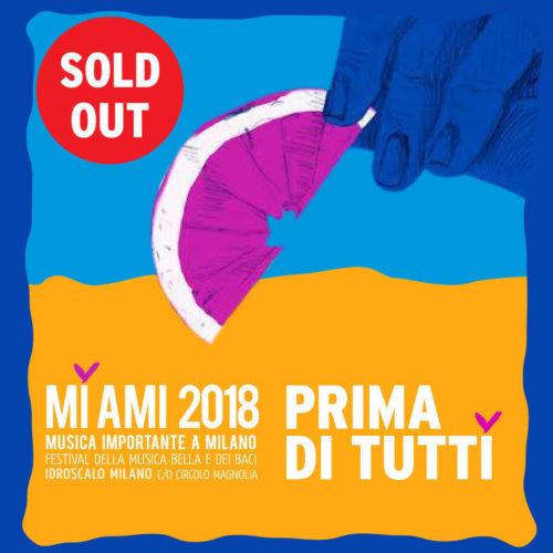 """MI AMI 2018 – abbonamento """"Prima di tutti"""" valido per i 2 giorni del festival"""