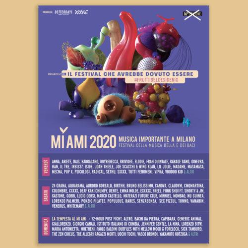 "MANIFESTO ""MI AMI Festival 2020"""