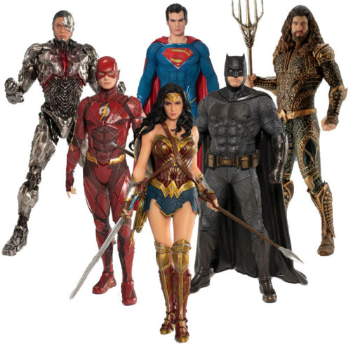 "Personaggi ""Justice League"""