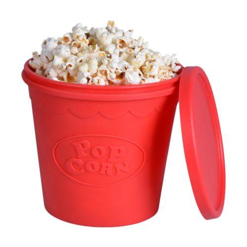 Contenitore popcorn in silicone