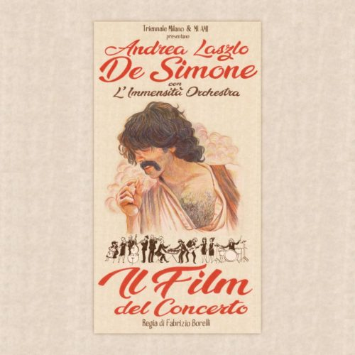 """Locandina de """"Il Film del Concerto"""" di Andrea Laszlo De Simone"""